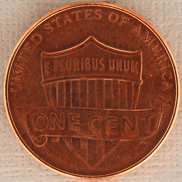 ONE CENT Union Shield