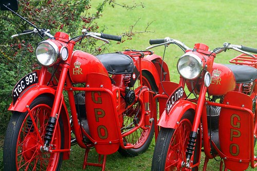 GPO - BSA Bantam Motorcycles