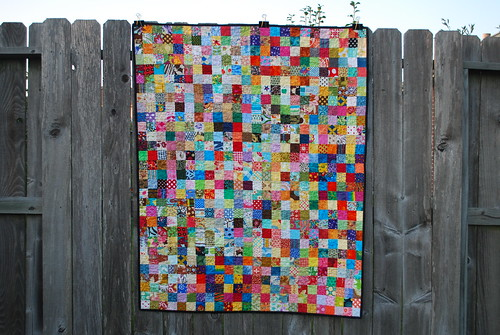 do. Good Stitches Postage Stamp Quilt