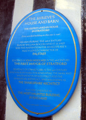 Photo of Shrieve's House and Barn, William Rogers, John Woolmer, and Edward Gibbs blue plaque