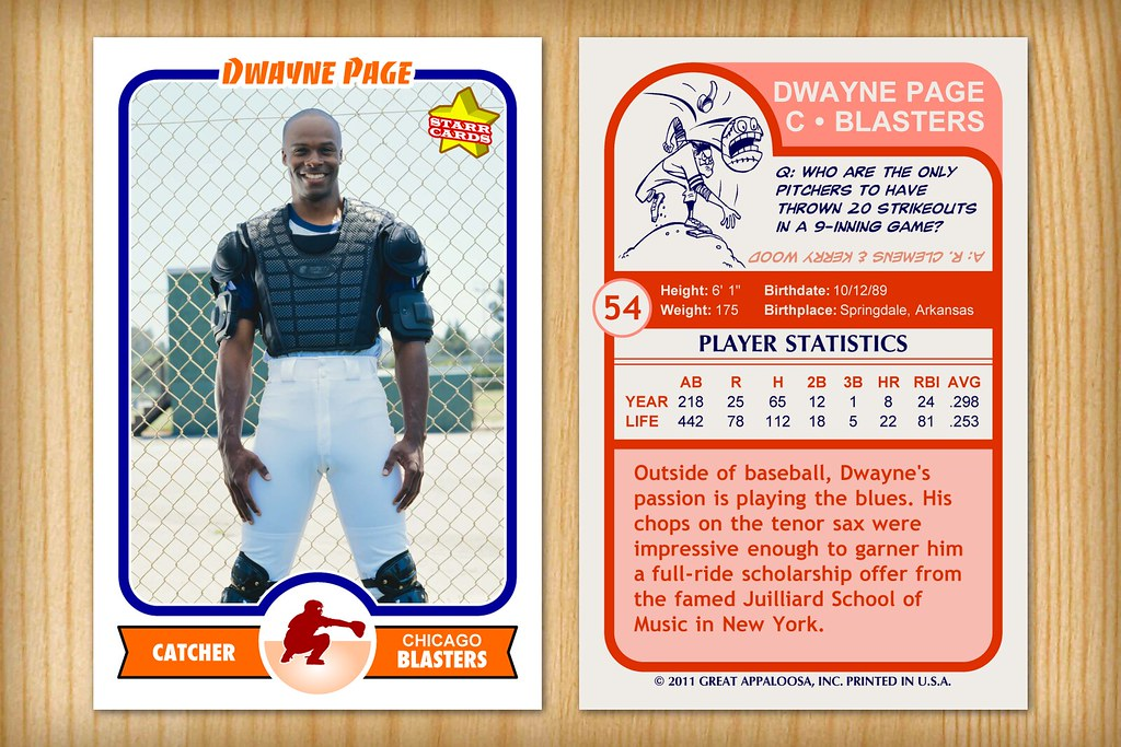 Baseball card template for Baseball card size template