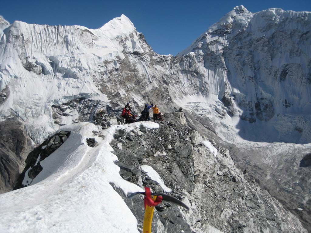 Guided Nepal Climbing Expedition Island Peak Summit