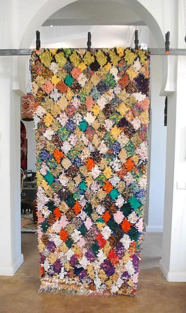 Moroccan Boucherouite Carpet No 635