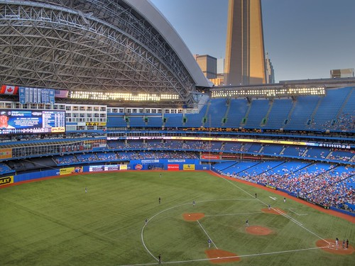 Blue Jays Game HDR