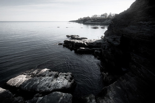 ocean cliff nature water rock lens landscape us exterior view horizon shoreline newengland rocky places trail rhodeisland national newport shore vista recreation mansion cliffwalk efs1022mmf3545usm canoneos50d ©hassanbagheri