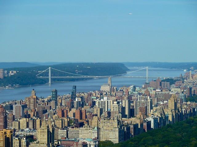 George Washington Bridge and the Upper West Side