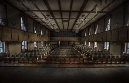 Abandoned university school  ::