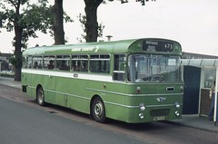 London Country Bus Services Ltd . SMW3 PWN703H . Crawley Bus Station . July-1975 .