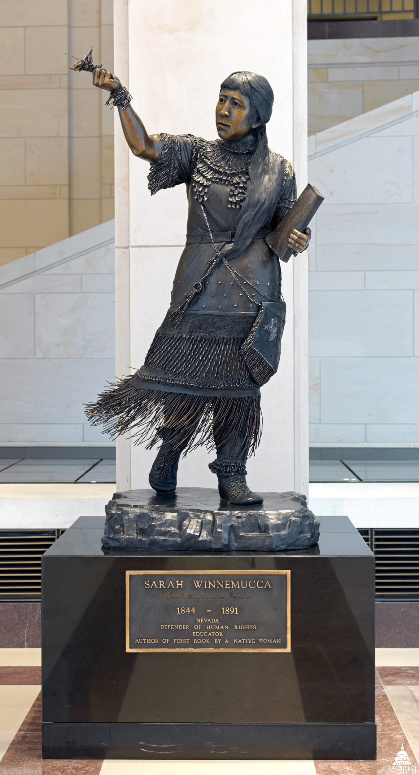 Sarah Winnemucca Architect Of The Capitol