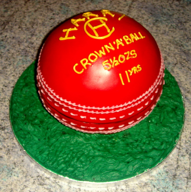 Cricket Ball Cake Images : Cricket ball cake Flickr - Photo Sharing!