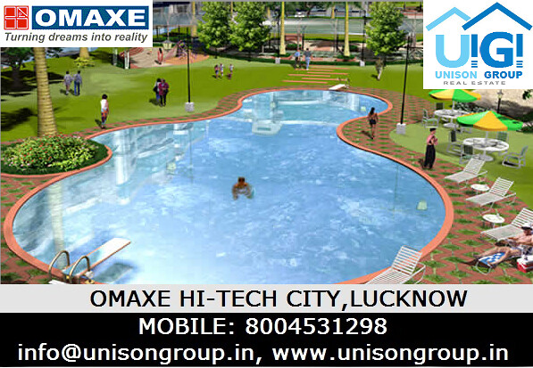 Omaxe hitech plots lucknow unison group unison group real estate 85