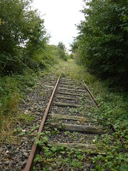 railway beside Bagneux British Cemetery