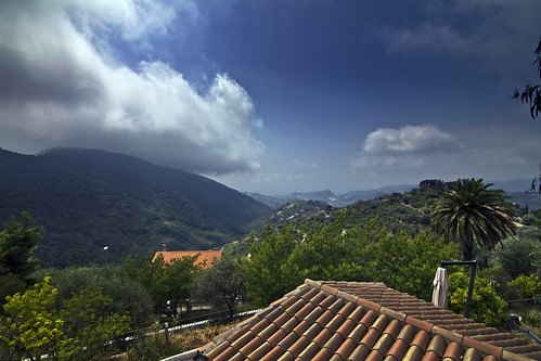 View towards Bordighera