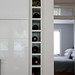 Built-in wine rack