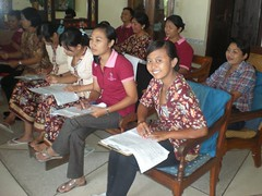 Suasana Belajar Bahasa Inggris di Inna Grand Bali Beach Spa, Sanur Bali