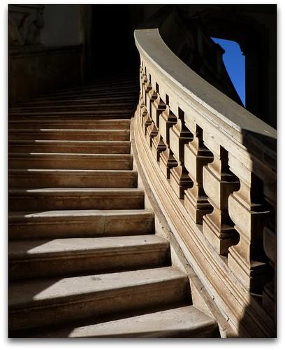 Scalone Certosa di san Lorenzo