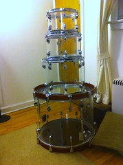 DIY - see-thru drums!