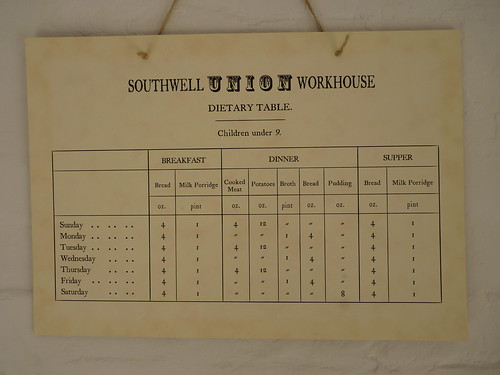 southwell the workhouse kitchen rations