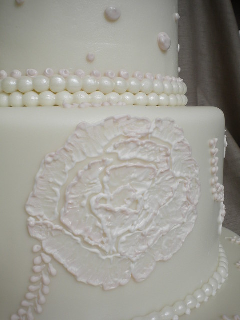 Brush embroidery wedding cake flickr photo sharing
