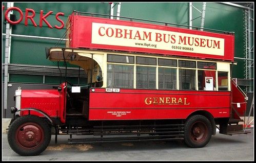 General D142 Dennis 4ton 1925 London Bus Museum 18/09/11.