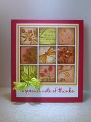 Linda thanks Scrap Card.