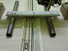 Y-axis support rails