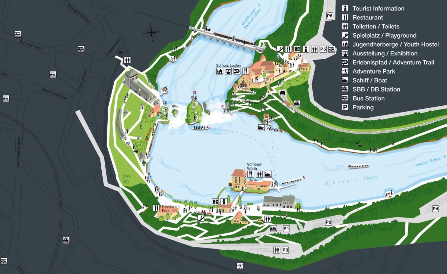 Rheinfall, la gran catarata europea - 6169816109 73e8266131 o - Rheinfall, la gran catarata europea