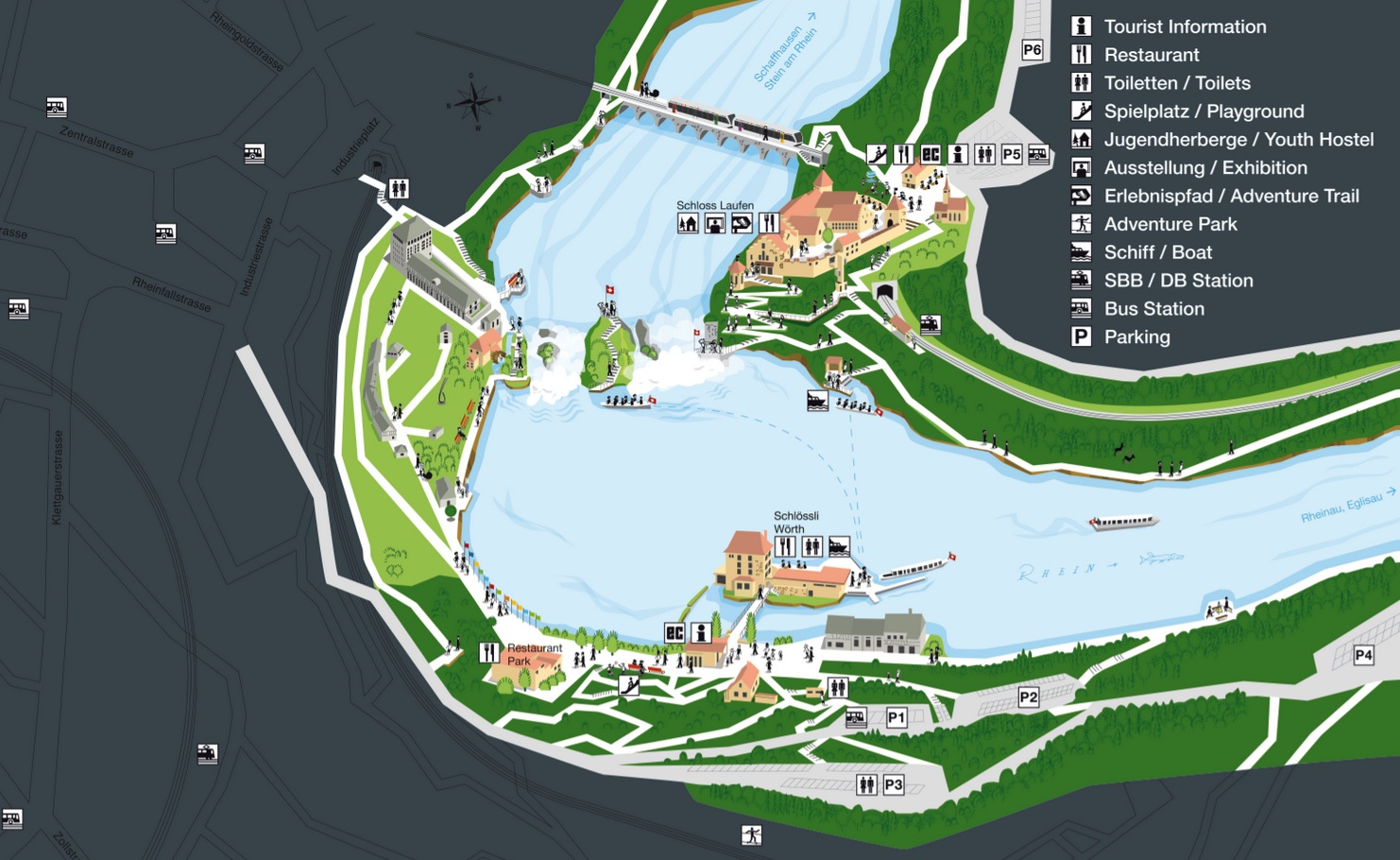 rheinfall - 6169816109 73e8266131 o - Rheinfall, la gran catarata europea