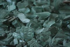 Glass Bricks Fragments
