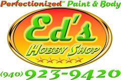 Ed's Hobby Shop Sign - Never Paid For