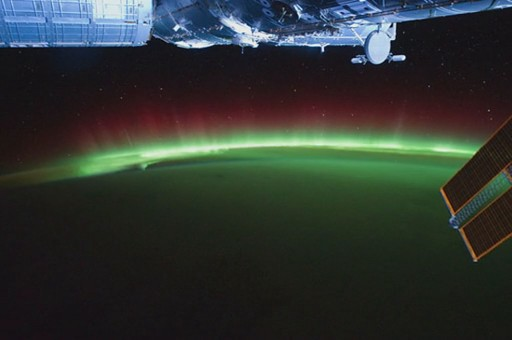 Aurora Time-Laps from the ISS