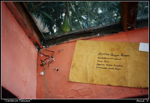 Cartas en titicaca