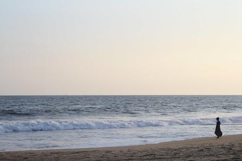 ocean sunset beach atlantic côtedivoire grandbassam