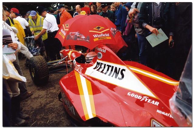 Ricardo Patrese 1998 Williams Mecachrome FW20 F1. Goodwood Festival of Speed 1998.