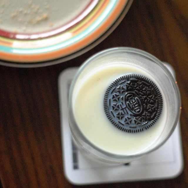 Milk and Oreos :)