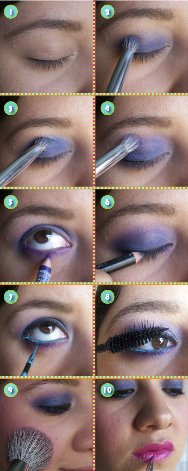 How to do 70s eye makeup