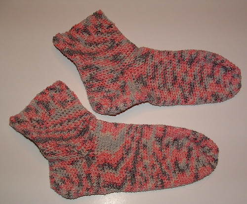 Crocheted Women's Socks