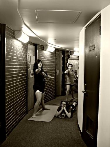 Day 13/365  --Hallway Yoga