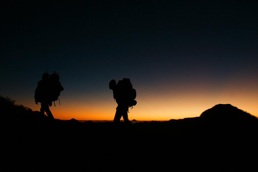 Mount Rinjani Trek #2 - Arrival at Sunset