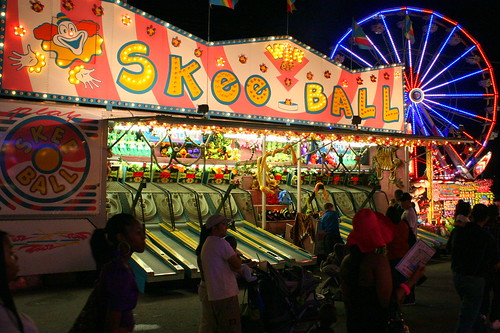 2011 TN State Fair: Midway Skee Ball
