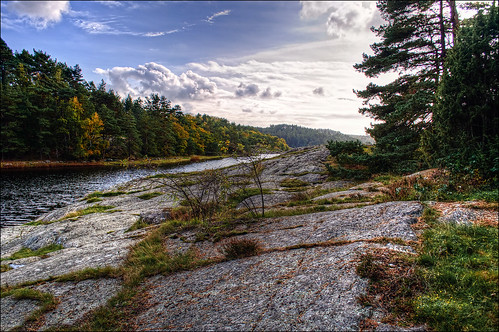 autumn sky color fall nature water landscape nikon heaven sweden höst tjörn sundsby d90 photomatix nikond90