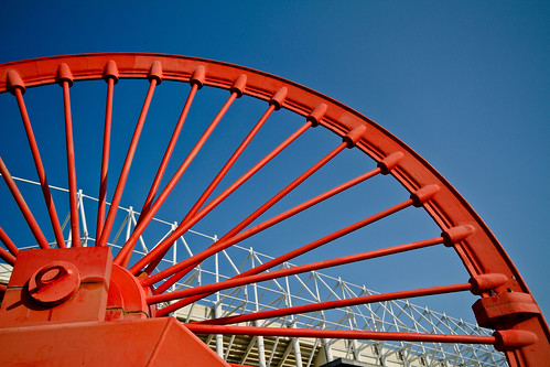 Pit wheel and Stadium | by CWhatPhotos