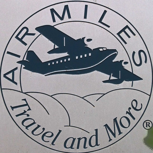 Header of air miles