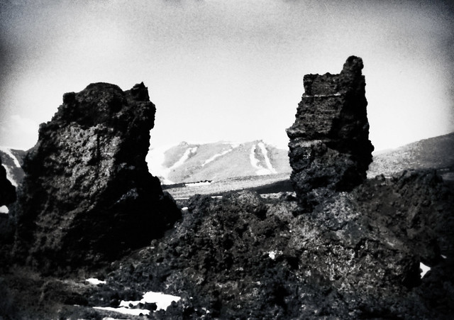 Film from 90, post processed, Craters of the Moon