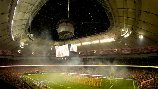 Renovated BC Place