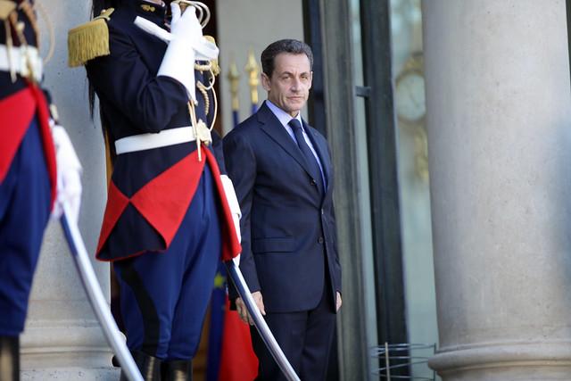 Συνάντηση με τον Πρόεδρο της Γαλλικής Δημοκρατίας, Nicolas Sarkozy