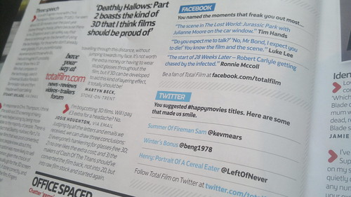 Tweets, in print