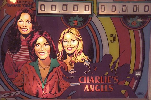 Charlie's Angels Pinball