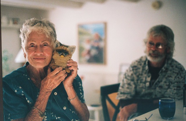 Grandmother and Furby