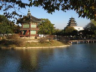 Seoul, Hyangwonjeong Pavilion